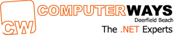 Computer Ways, Inc. Logo. Software, data and cloud services.